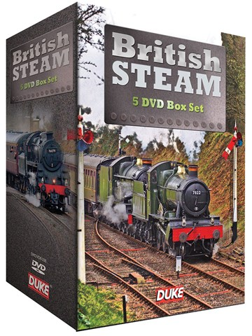 British Steam (5 DVD) Box Set - click to enlarge