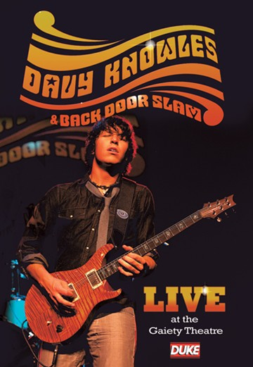 Davy Knowles and Back Door Slam Live at the Gaiety Theatre 2009 Signed DVD - click to enlarge
