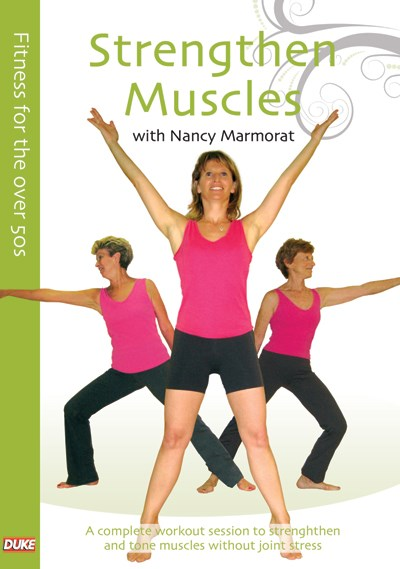 Fitness for the Over 50s  Stengthen Muscles DVD
