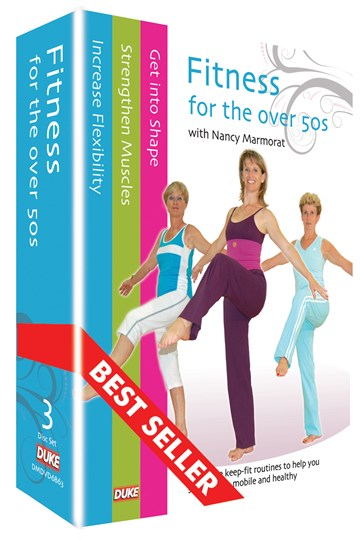 Fitness for the Over 50s (3 DVD) Box Set - click to enlarge