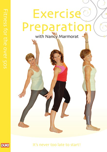 Fitness for the Over 50s Exercise Preparation DVD