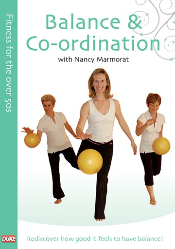 Fitness for the Over 50s  Balance and Coordination DVD - click to enlarge