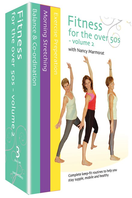Fitness for the Over 50s Vol 2 (3 DVD) Box Set