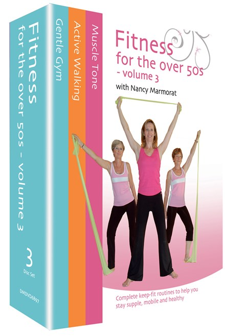 Fitness for the Over 50s Vol 3 (3 DVD) Box Set
