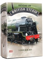 Heyday of British Steam (5 DVD) Box Set