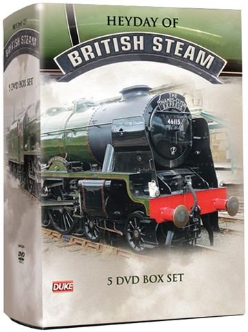Heyday of British Steam (5 DVD) Box Set - click to enlarge