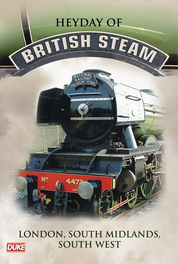 Heyday of British Steam,London,South Midlands and South West DVD - click to enlarge