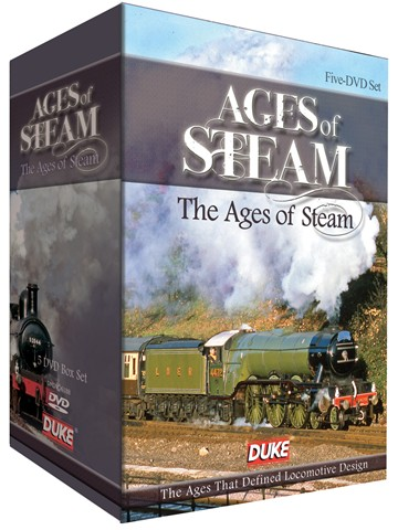 Ages of Steam ( 5 DVD) Box Set - click to enlarge