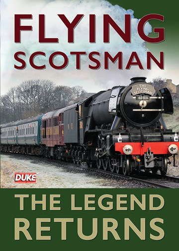 Flying Scotsman - The Legend Returns DVD - click to enlarge