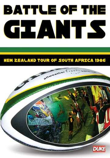 Battle of the Giants - 1986 NZ Tour of SA (DVD) - click to enlarge