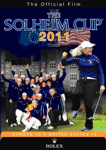 The 2011 Solheim Cup DVD - click to enlarge