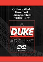 Offshore World Powerboat Championships Venice 1979 Duke Archive DVD