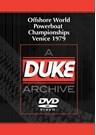 Offshore World Powerboat Championships Venice 1979 Duke Archive DVD
