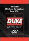 Brixham Offshore Powerboat Race 1981 Duke Archive DVD