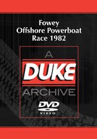 Fowey Offshore Powerboat Race 1982 Duke Archive DVD