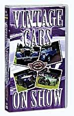 Vintage Cars ON Show VHS