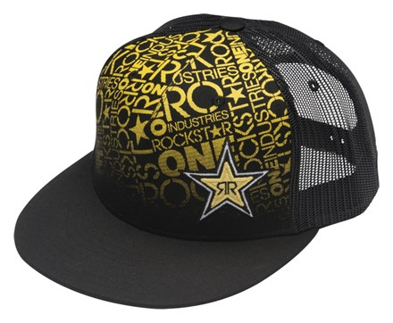64ebb3301e7f4 Rockstar Sundowner Cap Black One Size   Duke Video