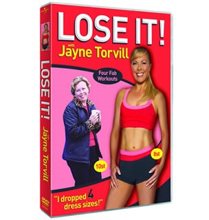 Lose It! with Jayne Torvill (DVD)