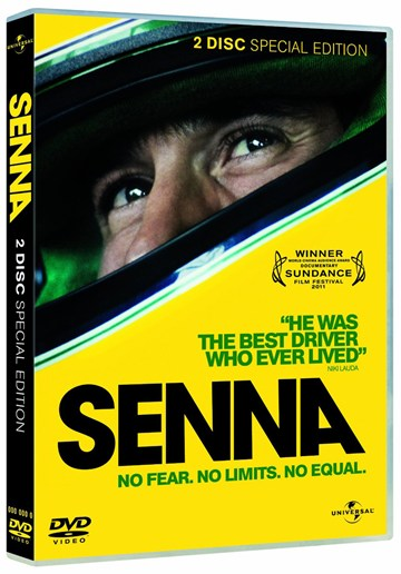 Senna DVD (2 Disc) - click to enlarge