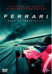 Ferrari The  Race to Immortality DVD