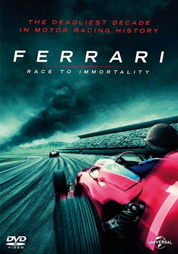Ferrari The  Race to Immortality DVD - click to enlarge
