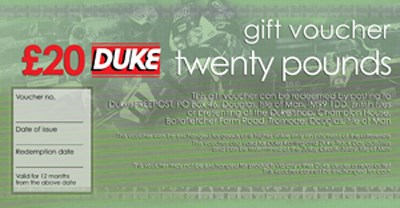 Duke £20.00 Gift Voucher