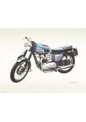 Triumph Bonneville Classic Print