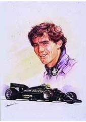 Ayrton Senna - Print