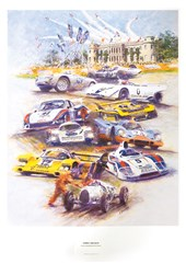 Simply the Best - Porsche at Goodwood - Print
