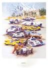 Simply the Best - Porsche at Goodwood - Print