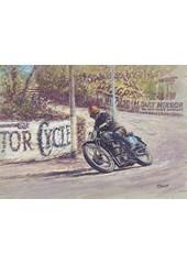 TT Legends Stanley Woods Print