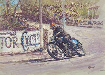 Stanley Woods TT Legend Print - click to enlarge