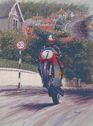 Giacomo Agostini TT Legend Print  - click to enlarge