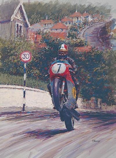 Giacomo Agostini TT Legend Print