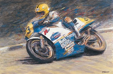TT Legend Joey Dunlop Print - click to enlarge