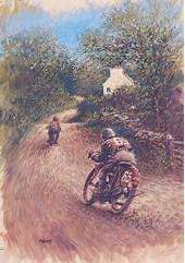 TT Legends Freddie Dixon Print