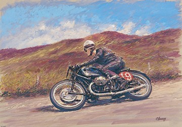Walter Zeller TT Legend Print - click to enlarge