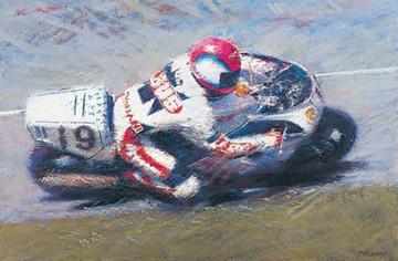 Steve Hislop TT Legend Print - click to enlarge