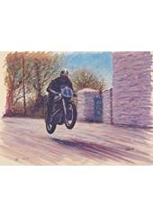 TT Legends Geoff Duke Print
