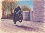 TT Legends Geoff Duke Print