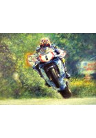 David Jefferies TT Legend Print - Limited Edition by Peter Hearsey