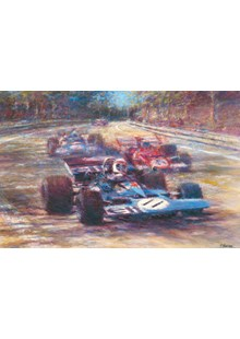 Great Racing Legends Jackie Stewart Print