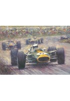 Racing Legends Jim Clark Print