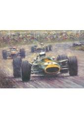 Racing Legends Jim Clark Print