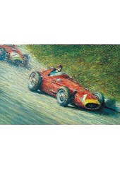 Great Racing Legends Juan-manuel Fangio Print