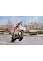 Guy Martin Signed Print