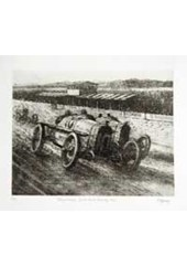 Duesenbergs 1920 Etching