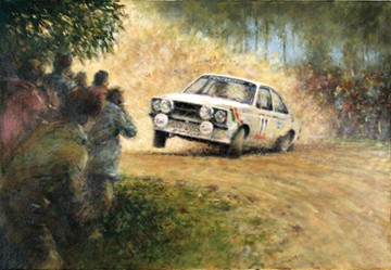 Ari Vatanen Print Escort Rally - click to enlarge