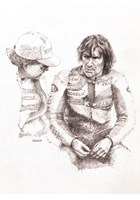 Joey Dunlop 1987 Paddock Talk Print