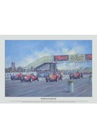 The Birth of Formula One Ltd Edition Print